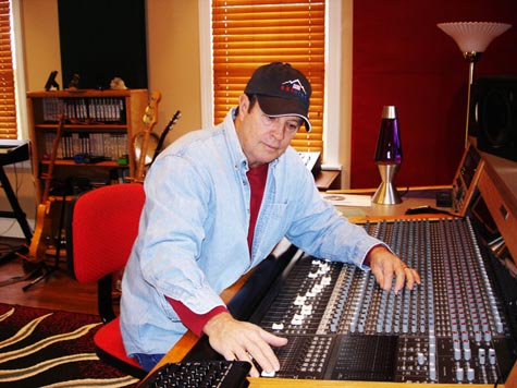 Tim at the console